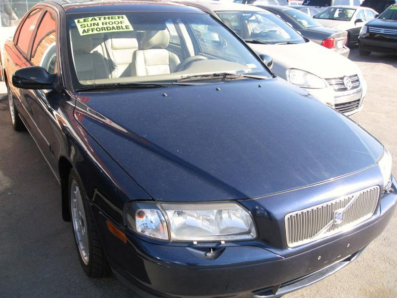 2002 volvo s80 t6 a sr turbo w sunroof used cars at central motors inc lexington ky buy. Black Bedroom Furniture Sets. Home Design Ideas