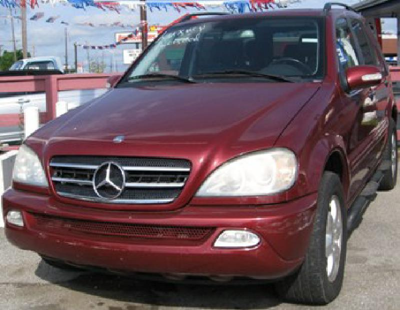 2003 mercedes benz ml 500 used cars at central motors inc lexington ky buy here pay here. Black Bedroom Furniture Sets. Home Design Ideas