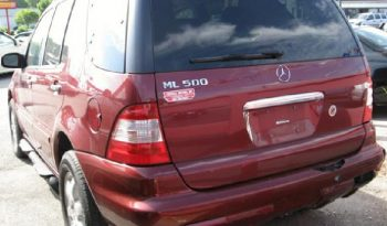 2003 Mercedes-Benz Ml 500 full